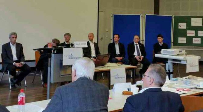 Podium 4. Frankfurter Geldkongress