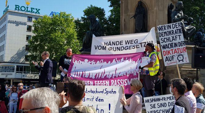 """Kundgebung: """"Hände weg vom Grundgesetz!"""" Weseler Werft 23.5.2020 – 15.00Uhr"""